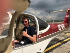 Alexandre, first solo on 4 June 2017, Charleroi airport