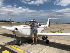 Arthur, private pilot since 30 July 2019