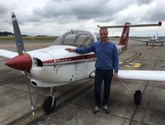 Christophe, private pilot since 18 November 2018, Charleroi airport