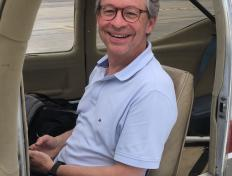 First solo flight for Eric on 21 May 2018 (Charleroi airport)