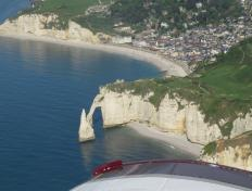 Etretat and its beautiful cliffs