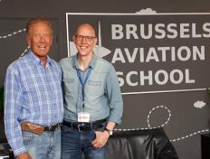 François, private pilot since 18 June 2018, and his PPL examiner Louis