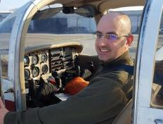 Igor, first solo on 5 February 2018, Charleroi airport