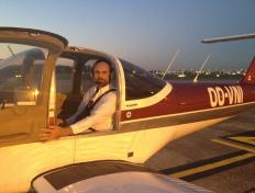 Jean-Thierry, private pilot since 21 September 2016