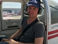 Patrice, first solo on 26 March  2017, Charleroi airport