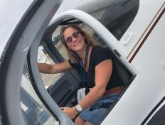 First solo for Petra on 20 July 2018 (Charleroi airport)