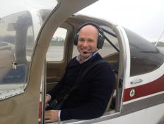 Philippe, private pilot since 13 October 2016, Charleroi airport