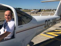 Patrick, first solo on 29 June 2019, Charleroi airport
